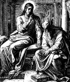 Jesus und Nikodemus
